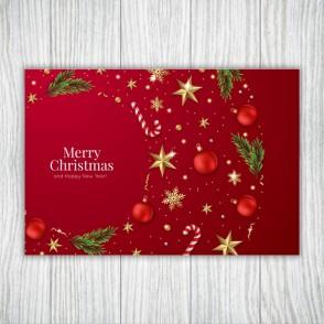 Set foi de masa Christmas Red